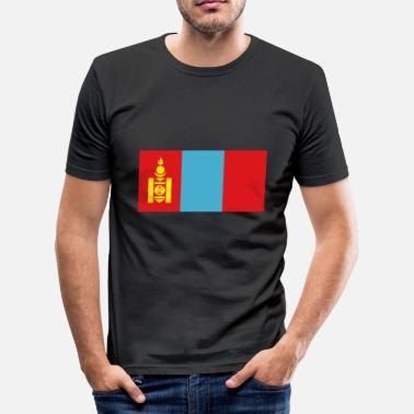 South East Asia mongolia - Men's Slim Fit T-Shirt