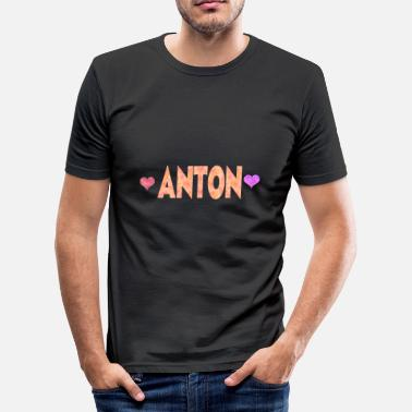 Antonella Anton - Men's Slim Fit T-Shirt