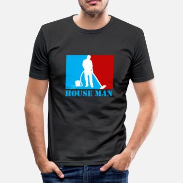 Hausmann Hausmann - Slim fit T-skjorte for menn