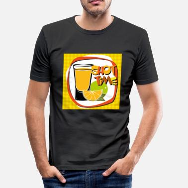 Fyraften Cocktail, whisky, drikkevarer - Herre Slim Fit T-Shirt