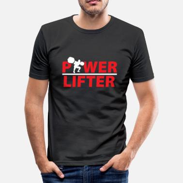 Lifter Power lifter - slim fit T-shirt