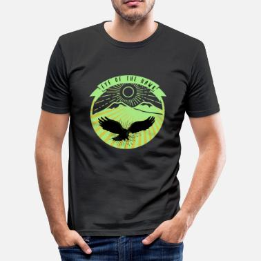Havørn eagle eye hawkeye bird raptor dyr gave - Herre Slim Fit T-Shirt