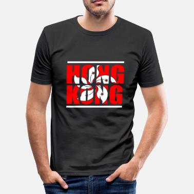 Hong Kong Hong Kong - Herre Slim Fit T-Shirt