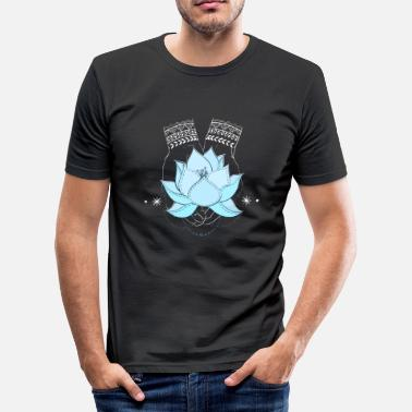 Lotusblüte - Männer Slim Fit T-Shirt