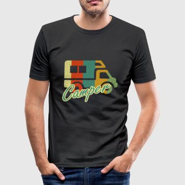 Camper Camper - Men's Slim Fit T-Shirt