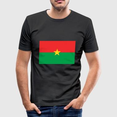 Burkina Faso Burkina Faso flag - Men's Slim Fit T-Shirt