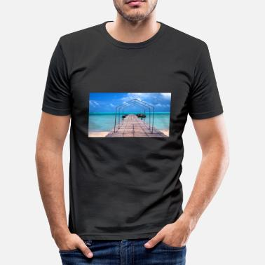 Paradise paradise - Men's Slim Fit T-Shirt