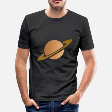 Saturnus Saturn - T-shirt slim fit herr
