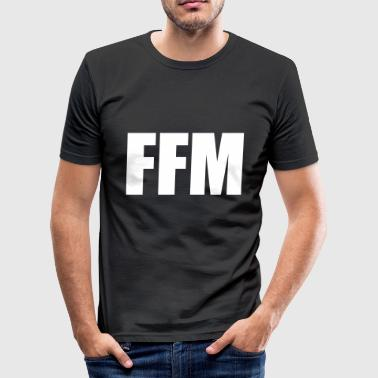 Frankfurt am Main - Männer Slim Fit T-Shirt