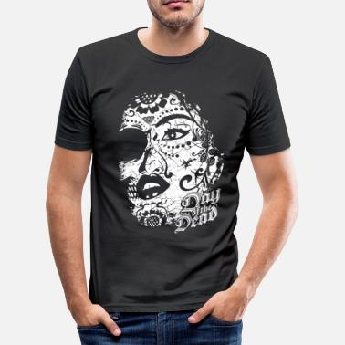 Day Of The Dead Sugar Lady - Day of the Dead - Männer Slim Fit T-Shirt