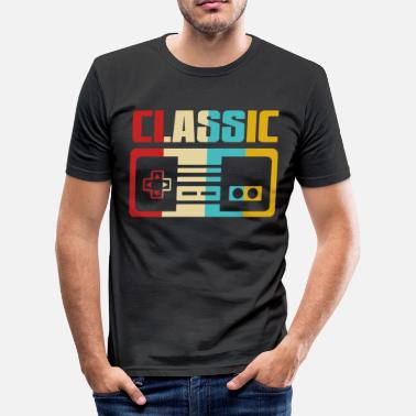 Retro Game Characters Retro Gaming - Men's Slim Fit T-Shirt