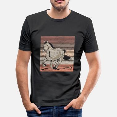 Galop Horse galop Used look retro - slim fit T-shirt