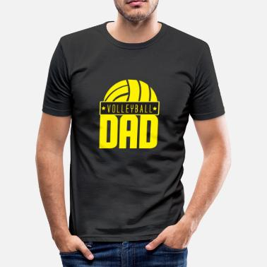 Volleybal Coach Cadeau Volleybal Vader Coach Trainer Dochter Gift - slim fit T-shirt