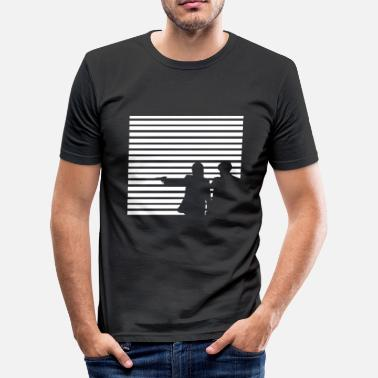 Fiction Vincent Vega und Jules Pulp Fiction - Männer Slim Fit T-Shirt