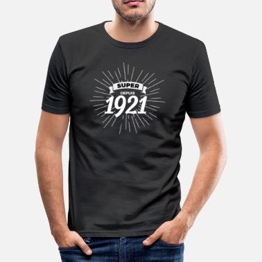 1921 Super sedan 1921 - Slim Fit T-shirt herr