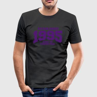 aged to perfection established 1995 (uk) - Men's Slim Fit T-Shirt