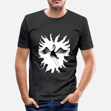 Black Swan Black Swan - Men's Slim Fit T-Shirt