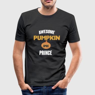 Awesome Pumpkin Spice Prince - Men's Slim Fit T-Shirt