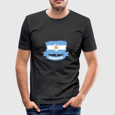 Football Argentina Argentina World Cup - Men's Slim Fit T-Shirt