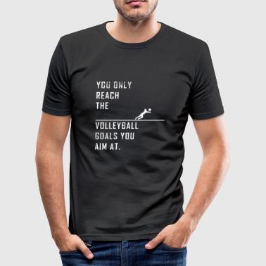 Beach Volley Volleyball volley-ball beach volley cadeau - T-shirt près du corps Homme