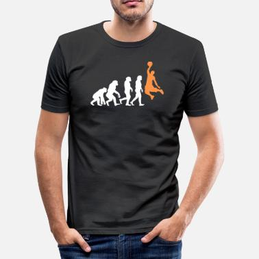 Slam Dunk ++ Basketball Slam Dunk Evolution ++ - T-shirt près du corps Homme