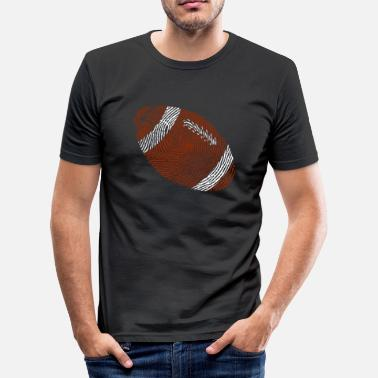 Rugby American Football - Rugby Ball - USA - Game-Team - slim fit T-shirt