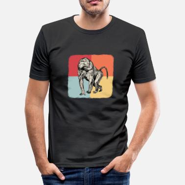 Chimpanzees chimpanzee - Men's Slim Fit T-Shirt