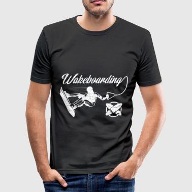 Wakeboarding wakeboarder wakeboard watersports - Men's Slim Fit T-Shirt