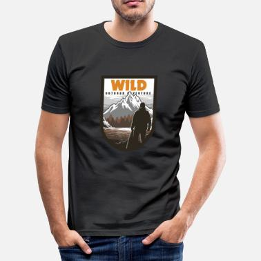 Outdoor Wilderness Outdoor Adventure - T-shirt moulant Homme