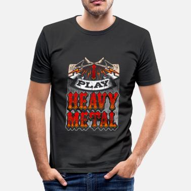 Heavy Metal Heavy Metal - T-shirt moulant Homme