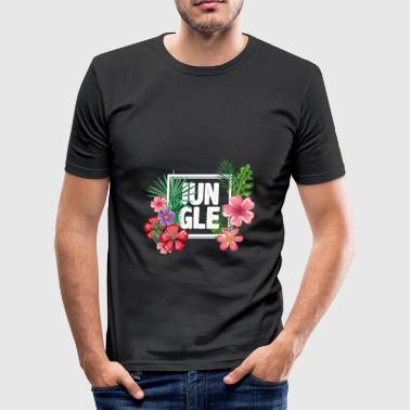 jungelen - Slim Fit T-skjorte for menn