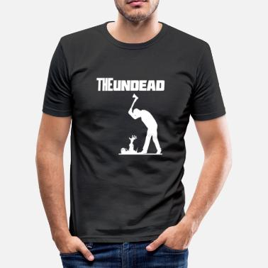 Undead The undead Halloween - Männer Slim Fit T-Shirt