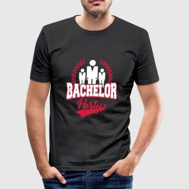 Utdrikningslag - JGA-bachelorette party gave - Slim Fit T-skjorte for menn