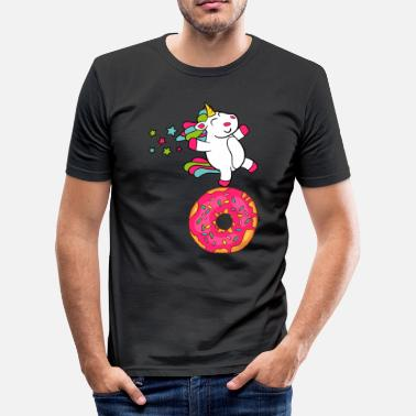 Confiserie Donuts Confiserie Cookie Tart Cake Pies - slim fit T-shirt