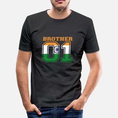 Brother brother brother 01 king India - Men's Slim Fit T-Shirt