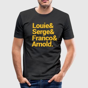 Louie Serge en Arnold - slim fit T-shirt