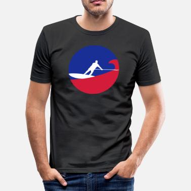 Sup Surf sup surfing - Men's Slim Fit T-Shirt
