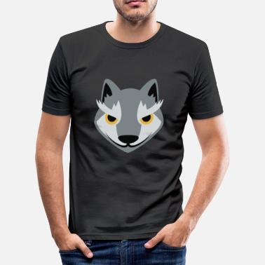 Wolf Child wolf - Men's Slim Fit T-Shirt