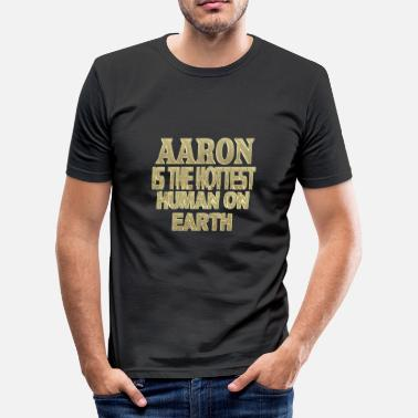 Aaron Aaron - Men's Slim Fit T-Shirt