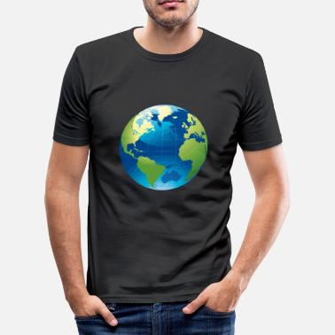 Globe Globe - globe - Men's Slim Fit T-Shirt