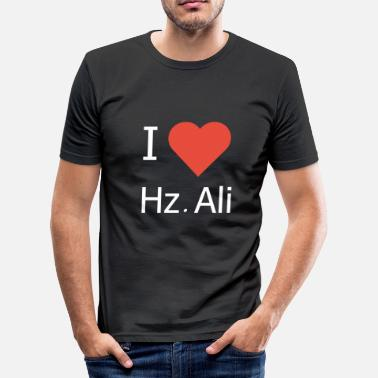 Hz Ali Ik hou van Hz. Ali - slim fit T-shirt