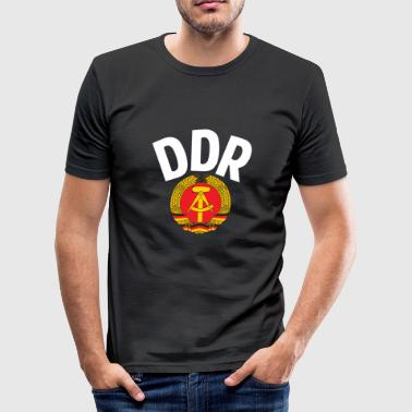 DDR - German Democratic Republic - Est Germany - Camiseta ajustada hombre