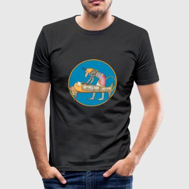 Anubis Anubis - Slim Fit T-skjorte for menn