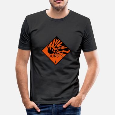 Skur skurar - Slim Fit T-shirt herr