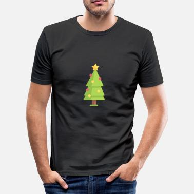 Kerstmis Kerstboom Kerstboom Kerstmis - slim fit T-shirt