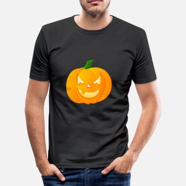 Haloween Haloween pompoen - slim fit T-shirt