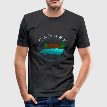 Canary CANARY - Men's Slim Fit T-Shirt