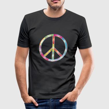 Peace Peace Gift - Slim Fit T-shirt herr