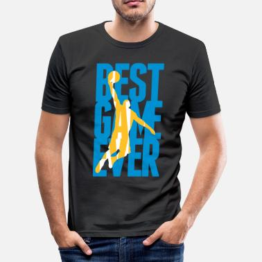 Basketball Best Game ever - Basketball - Herre Slim Fit T-Shirt