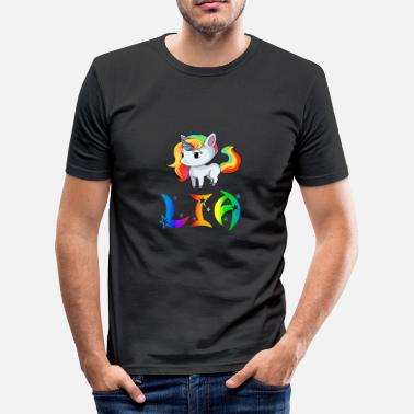 Liam Payne Lia Unicorn - Men's Slim Fit T-Shirt